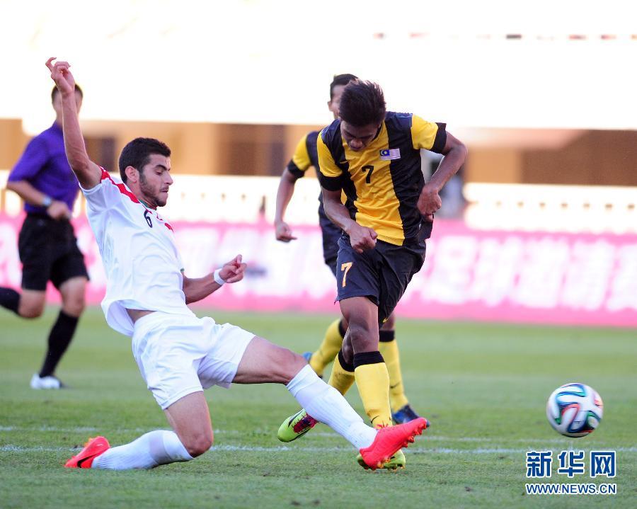 北京现代国际青年足球邀请赛:伊朗胜马来西亚