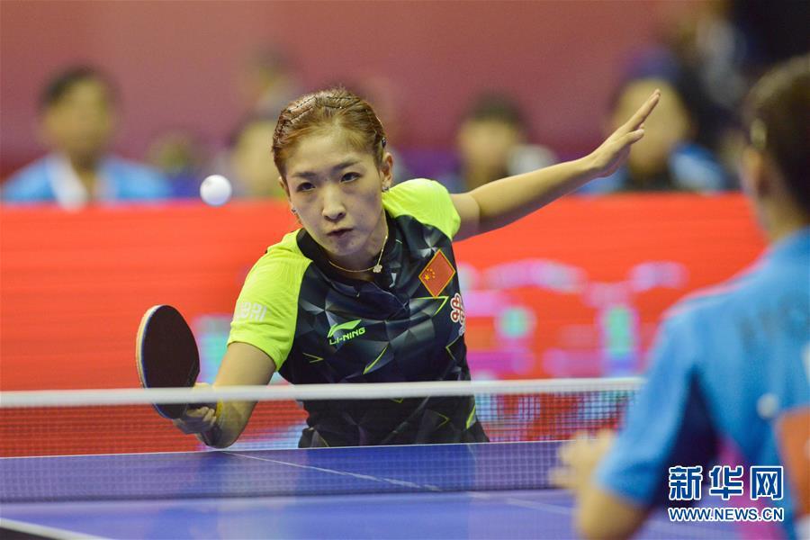 2016乒乓球世锦赛团体赛:中国女队胜马来西亚奥运比赛射箭靶图片