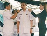 李宗偉獲擢升為海軍中校