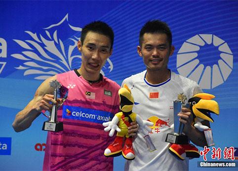 林丹戰勝李宗偉首奪馬來西亞羽毛球公開賽冠軍