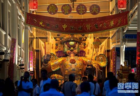 (图片故事)马来西亚华人社区庆祝中元盛会