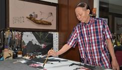 """馬華裔畫家:要做""""一帶一路""""文化交流的排頭兵"""