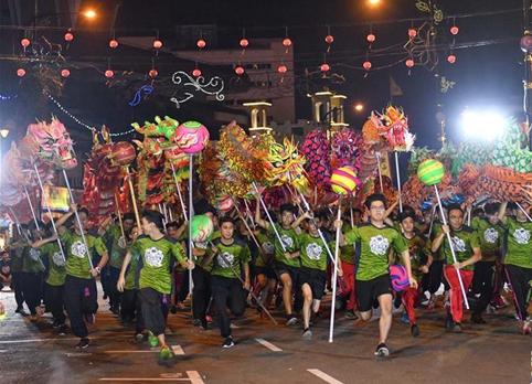 馬來西亞舉辦舞龍挑戰賽