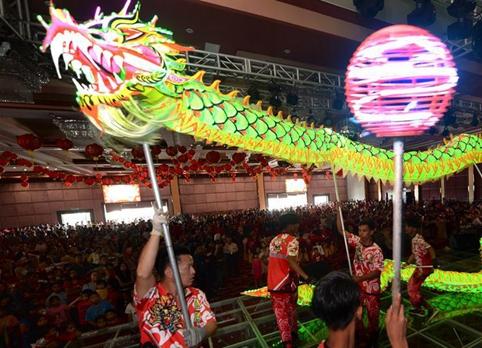 馬來西亞沙巴州華僑華人慶新春