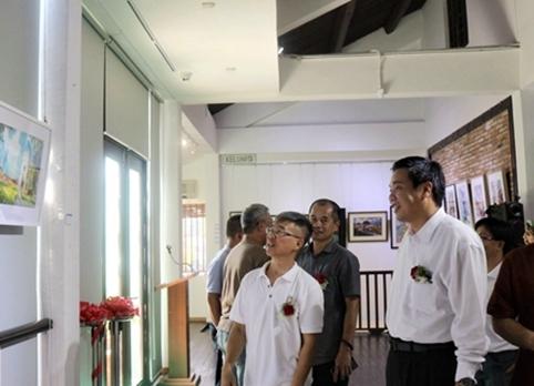 马来西亚水彩画协会会员作品展在马六甲举行