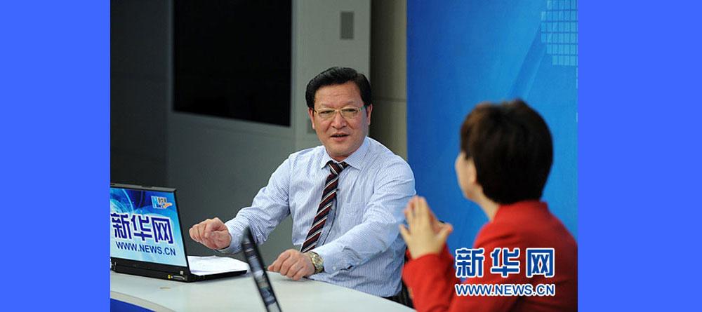 新华网专访:夏宝文谈马来西亚巴生港全球最大的清真产业发展中心