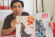 青春不留白 馬來西亞華人小夥勇闖藝術路