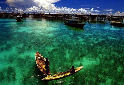 马来西亚仙本那 美到窒息的海景