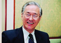 馬中友好協會秘書長、海鷗集團董事長陳凱希祝賀新華網馬來西亞頻道上線