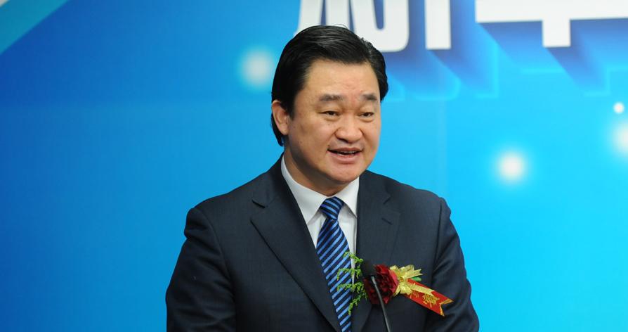 新華網總裁田舒斌致辭