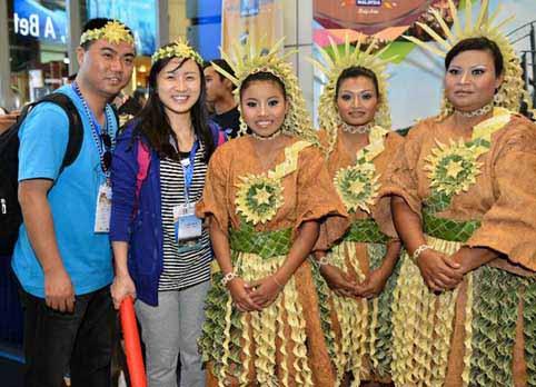 2014馬來西亞旅遊年開幕 特色表演迎接遊客