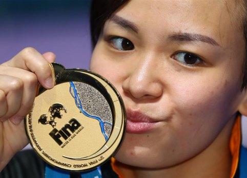 跳水女子10米臺:馬來西亞選手張俊虹奪冠